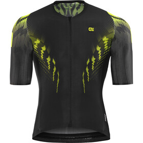 Alé Cycling R-EV1 Pro Race Shortsleeve Jersey Herre black-fluo yellow